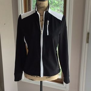Black and white Ralph Lauren jacket.